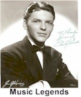 Frank Sinatra Movie Memorabilia Autographs