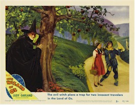 Wizard of Oz memorabilia and movie posters