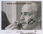 Marlon Brando RARE Autographed SIGNED GODFATHER Photo! PSA WOW!