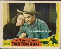 Three Texas Steers John Wayne Lobby Card, 1939