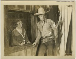 Blue Steel Original Vintage Publicity Photo Still John Wayne 34