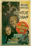 Charlie Chan Golden Eye Roland Winters one sheet 1948