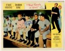 That Touch of Mink Vintage Lobby Card Autographed Mickey Mantle