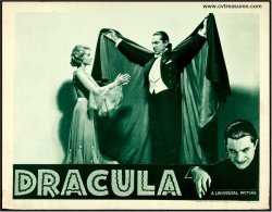 Dracula original vintage lobby card movie poster Bela Lugosi '38