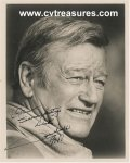 John Wayne Original Vintage Autographed Signed Photo PSA Cert
