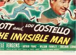 Abbott & Costello Meet Invisible Man HALF sheet movie poster 51