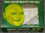 "Addams Family ""Uncle Fester"" Character Toy, 1964 UNUSED"