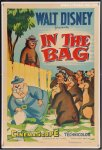 Disney's In the Bag Original Vintage Movie Poster one sheet