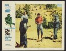 James Bond - Dr No, vintage Lobby Card guns men