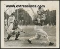LOU GEHRIG Hitting at the Plate Photo, DiMaggio, 1936