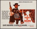 Fistful of Dollars Vintage Western Movie Poster Clint Eastwood