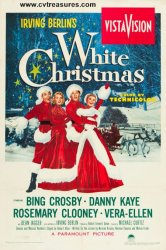 White Christmas Movie Poster one sheet, 1954
