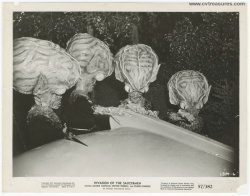 Invasion of the Saucer-Men Vintage Sci Fi Movie Still Publicity
