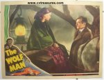 Wolf Man Horror Movie Poster Original Lobby Card, 1941 SCARCE!