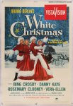 White Christmas Original Vintage One Sheet Movie Poster Crosby