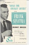 Frank Sinatra Autographed Sands Program In Person 1957
