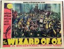 Wizard of OZ Vintage Lobby Card Movie Poster 1939
