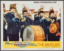 Beatles Help Lobby Card movie poster outside band 1965