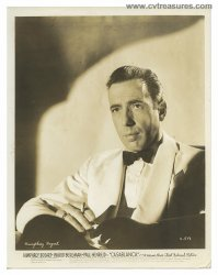 Casablanca Original Vintage Movie Photo Still Humphrey Bogart 1
