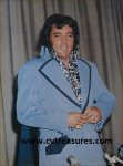 Elvis Presley Autographed Large Poster size Photo JSA