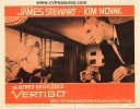 Alfred Hitchcock's Vertigo James Stewart lobby card 1958 fight
