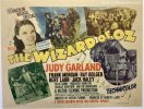 Wizard of OZ Original Vintage Half Sheet Movie Poster