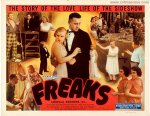 Freaks Original Vintage Half Sheet Movie Poster 1949