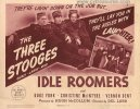 Idle Roomers Three Stooges Original Vintage Title Card 1944