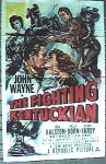John Wayne Fighting Kentuckian - original one sheet - 1949