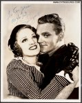 James Cagney Original Vintage Authentic Signed Autographed Photo