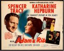 Adam's Rib Vintage Movie Poster Half Sheet Tracy Hepburn