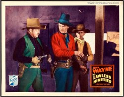 Lawless Nineties Vintage Lobby Card Movie Poster John Wayne