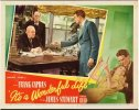 It's A Wonderful Life, James Stewart Lobby Card movie posters 1
