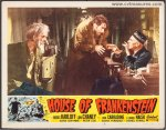 House of Frankenstein Original Vintage Lobby Card Boris Karloff