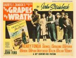 Grapes of Wrath Original Vintage Half Sheet Movie Poster