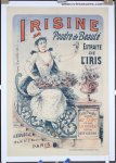 Gorgeous Original Vintage Antique Advertising Poster French 1895