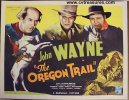 Oregon Trail Western Movie Poster Half Sheet John Wayne 1936 B