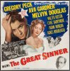 Great Sinner Original Vintage Movie Poster Six Sheet Peck