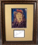 BertLahr - Lion of OZ - Special IN-PERSON autograph