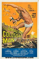 Amazing Colossal Man, Vintage One Sheet, 1957