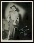 Bing Crosby autographed 8x10 signed vintage photo