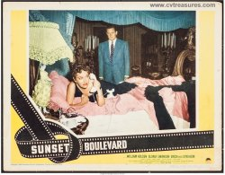 Sunset Boulevard Original Vintage Lobby Card Gloria Swanson 1950