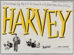 Harvey RARE Vintage Exhibition Movie Poster James Stewart
