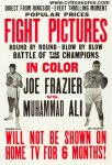 Muhammad Ali vs Joe Frazier Original Vintage Fight Boxing Poster