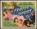 Frozen Ghost, Lon Chaney 1944 Vintage Movie poster 1/2 sheet