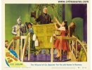 Wizard of OZ, Original Vintage Movie Poster Lobby Card balloon