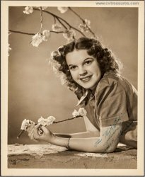 Judy Garland Authentically Signed Autographed Vintage Photo Pict