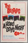 Beatles Hard Days Night Vintage movie poster One Sheet 1964