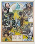 Jack Haley Ray Bolger Autographed SIGNED Wizard OZ Litho