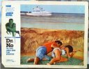 james Bond DR NO Original Vintage Lobby Card Movie Poster